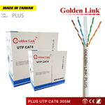 CÁP MẠNG GOLDEN LINK PLUS UTP CAT 6 MADE IN TAIWAN